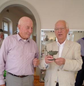 Manfred Bumiller (li.) und Werner J. Pich (re.)