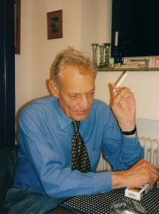 Dr. Peter W. Schienerl, Mai 1999 (phot. Ise Billig)