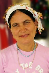 Dame auf dem Markt von Bodrum