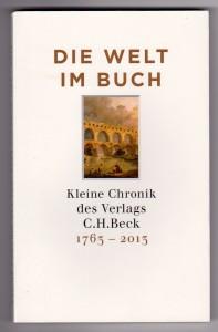 Die 128seitige Verlagschronik steht unter www.chbeck.de als pdf zum Download bereit.