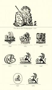 Beck'sche Verlagssignets von 1776 bis 1963