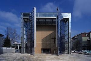 Portal der Herz Jesu Kirche in München