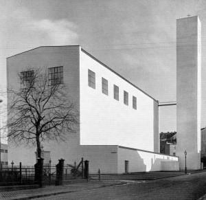 Pfarrkirche St. Fronleichnam Aachen. Rudolf Schwarz 1929-30