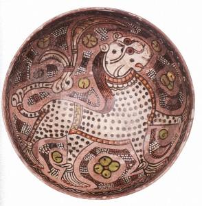 Fabelhafte Gestalten - eine neue Gruppe glasierter Keramik aus Zentralasien