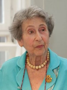 Elisabeth Sgalitzer Ettinghausen (Mit freundlicher Genehmigung der Redaktion des Gedenkbuches für die Opfer des Nazionalsozialismus an der Universität Wien)
