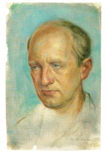 Emil Preetorius, Portrait von seinem BruderWilly gemalt 1938