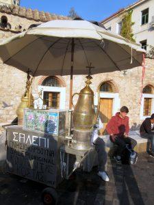Türkischer Wasserverkäufer am Monastiraki-Platz