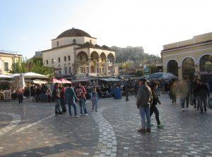 Tzistarakis-Moschee von 1759 auf dem Monastiraki-Platz